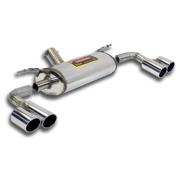 Supersprint Endschalldämpfer Rechts OO80 - Links OO80 passend für BMW F32 LCI Coupe 420iX 2.0T (B48
