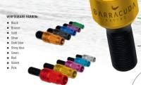 Barracuda Racing Bolt Black 54MM M12x1.5x28 silbernes Gewinde
