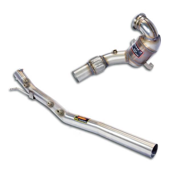 Supersprint Rohrsatz ab Turbolader mit Sport Metallkatalysator WRC 100 CPSI passend für VW ARTEON 4-