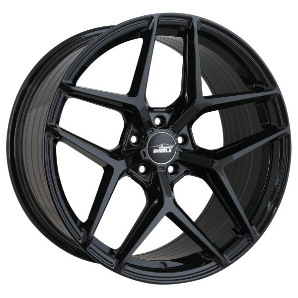 FF 550 Deep Concave 10,0x20 5x114,3 ET43 Highgloss Black