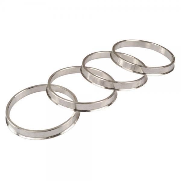 Zentrierring Alu 73,1 auf 66,6mm Silber