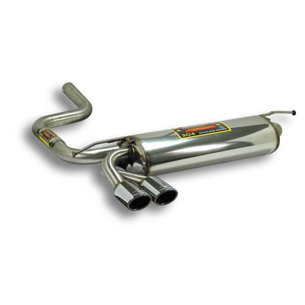 Supersprint Endschalldämpfer 90x70 passend für MERCEDES S210 E 300 TD (S.W.) 96 -> 02