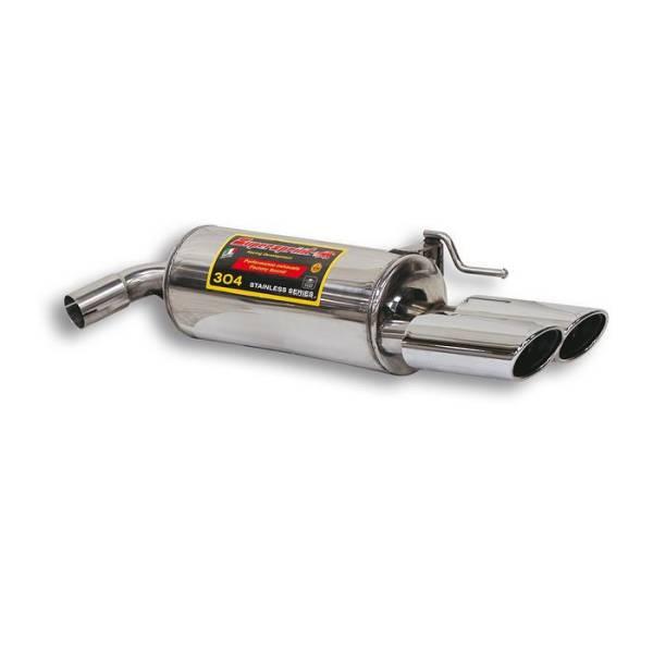 Supersprint Endschalldämpfer Rechts OO 120x80 passend für MERCEDES W220 S 600 V12 (367 PS) 99 -> 02