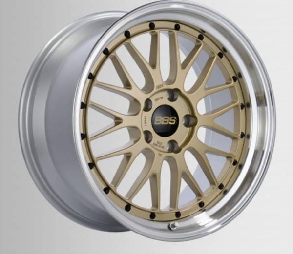 BBS LM gold/Felge diagedr. Felge 7x17 - 17 Zoll 4x100 Lochkreis