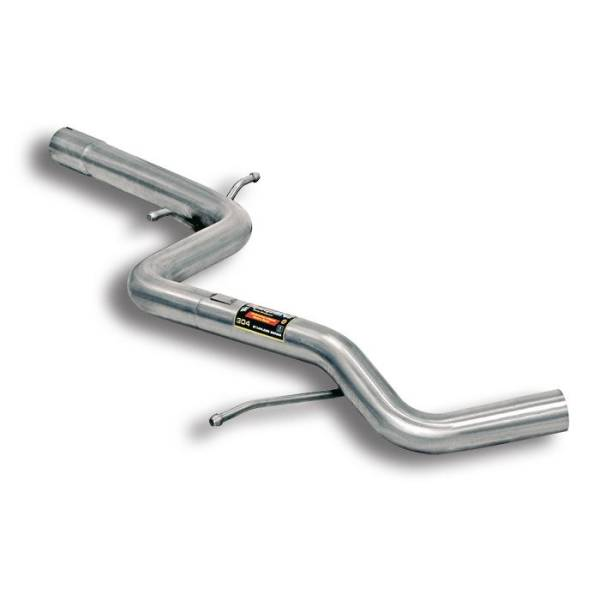 Supersprint Mittelrohr passend für VW SCIROCCO 1.4 TSI (122 PS) 09 ->