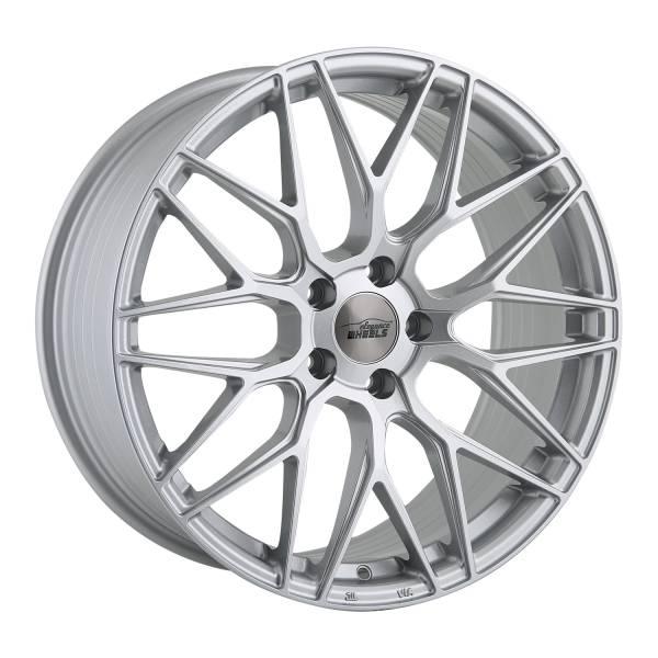 E 3 FF Concave 8,5x19 5x112 ET43 Hyper Silber