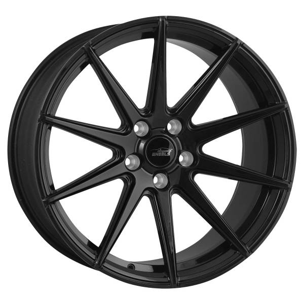E 1 FF Deep Concave 9,5x19 5x120 ET45 Highgloss Black