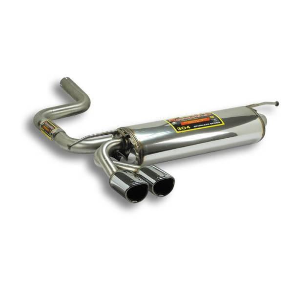 Supersprint Endschalldämpfer CLASS 95x80 passend für MERCEDES S210 E 200 CDI (102 PS / 115 PS) (S.W.