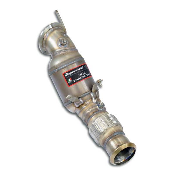 Supersprint Downpipe + Sport Metallkatalysator passend für BMW G21 (Touring) 320i 2.0T (B48 184 PS -