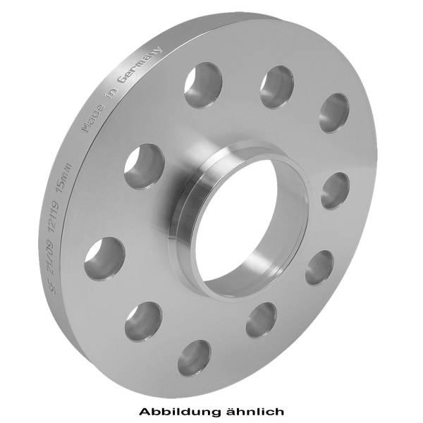 Distanzscheibe 5mm LK 4/100+4/108 NB57,1+73,1 silber