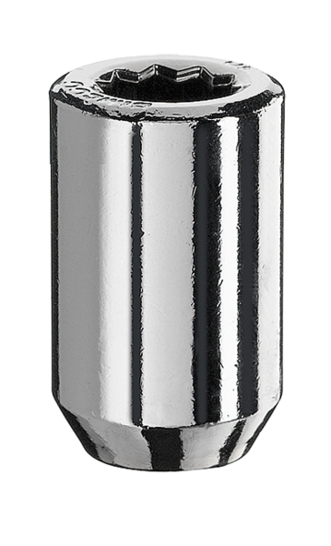 Radmutter Innenvielzahn M12x1,25x37mm silber