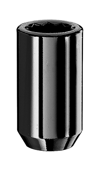 Radmutter Innenvielzahn 1/2 Zoll 37mm schwarz