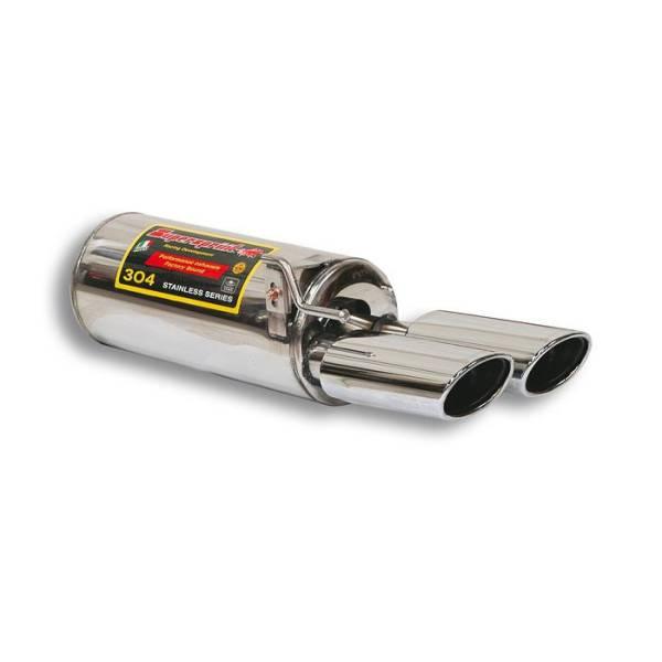 Supersprint Endschalldämpfer-Links OO 120x80 passend für MERCEDES W220 S 320 98 -> 05