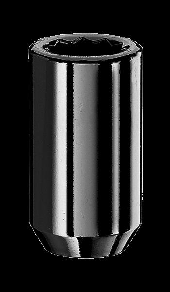 Radmutter Innenvielzahn M12x1,5x37mm schwarz