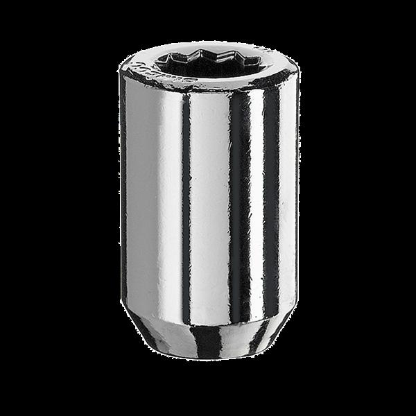 Radmutter Innenvielzahn M12x1,5x37mm silber