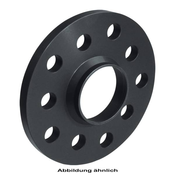 Distanzscheibe 15mm LK5/112 NB73,1 auf 66,5 schwarz