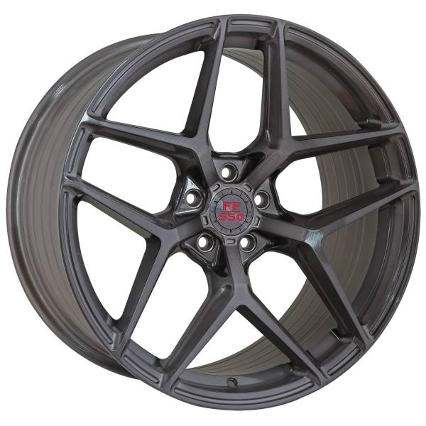 FF 550 Deep Concave 11,0x20 5x112 ET45 Liquid Brushed Metal